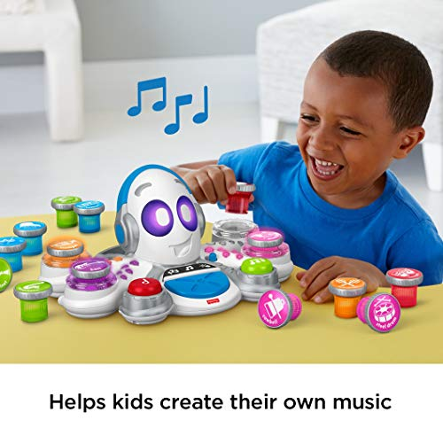 51RBJMSP7qL - Fisher-Price Think & Learn Rocktopus, Musical Toy for Preschoolers, Multicolor