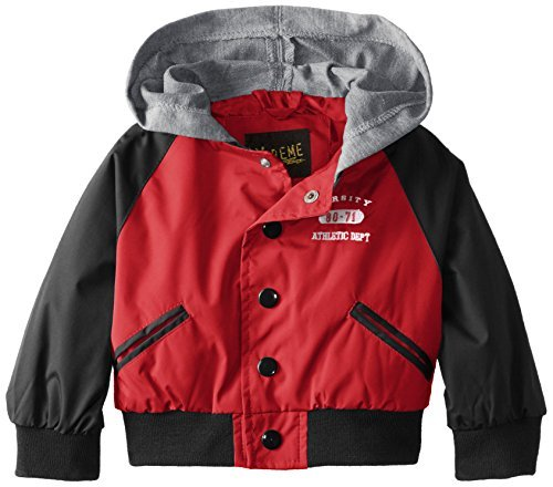 b2d1b282e Amazon.com   iXtreme Baby Boys  Varsity Jacket