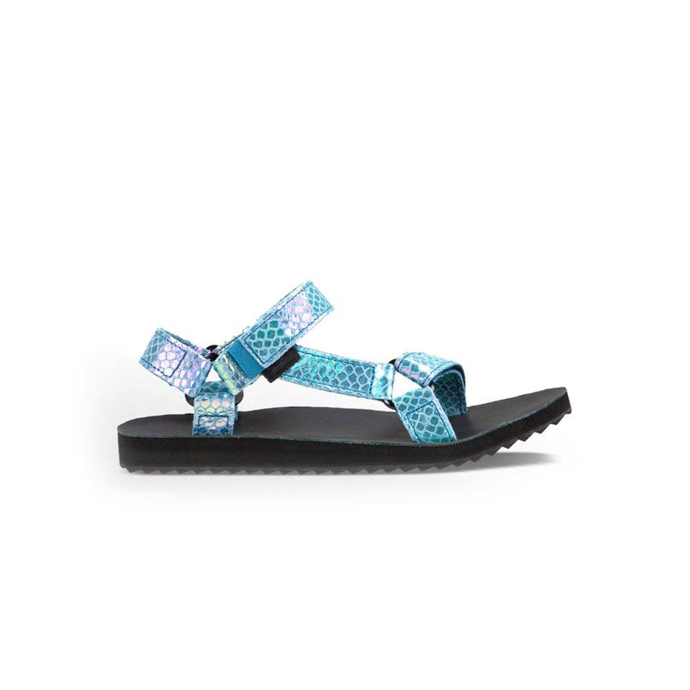 f509361258 Teva Women's Original Universal Iridescent Textile Sandal Teal-Teal-5:  Amazon.co.uk: Shoes & Bags