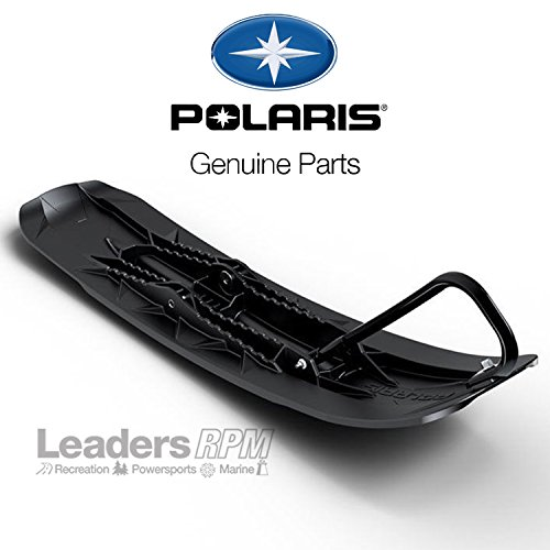 Snowmobile Ski - Polaris New OEM Pro Float Snowmobile Ski, Black, 2880482