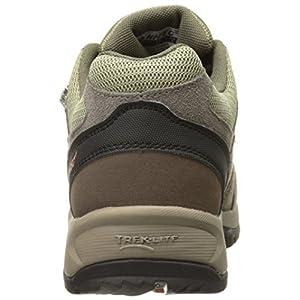 Hi-Tec Men's Dexter Low Waterproof Multisport shoe, Smokey Brown/Burnt Orange, 8.5 M US
