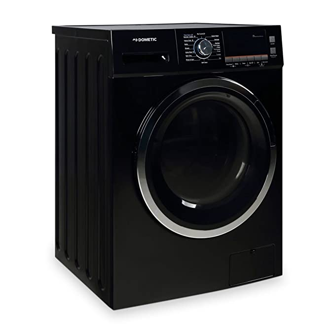 Dometic WDCVLB2 Ventless Washer Dryer Combo Black best front loading washer