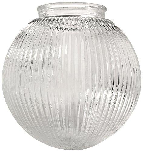 Ellington Glass Lighting - Ellington 137C Sphere Shaped Fan Glass Shade with 3 1/4