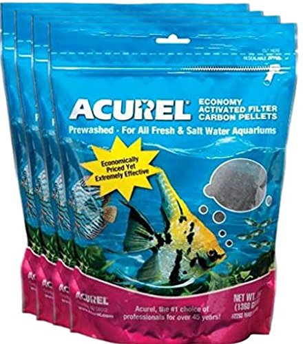Acurel LLC Economy Activated Filter Carbon Pellets, 12-Pound (4 Packages, 3 Pounds - Filters Economy