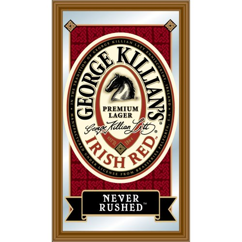 George Killian's Irish Red Framed Logo Mirror