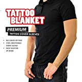Tattoo Cover Arm Sleeve TattooBlanket, 2 Skin-Tone Beige Camel Conceal Sleeves