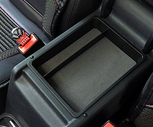 Plastique Int/érieur Accoudoir Bo/îte de rangement support pour garnitures de Coque 1/PC pour accessoire Auto Vwtg09