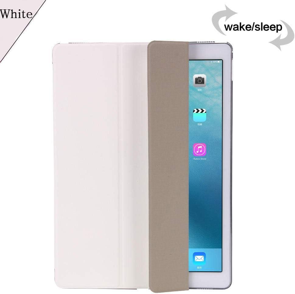 Flip Smart Tablet Case para Xiaomi MiPad 2/3 MiPad2 mipad 2 3 mipad3 7.9 Pulgadas Cubierta Ultra Slim PU Cuero Soporte magnético Shell-Blanco