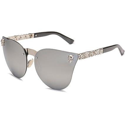6e24c5017b JAGENIE - Gafas de Sol para Mujer, diseño de Calavera, Estilo Vintage 3