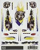 "Woodland Scenics Pine Car Derby Dry Transfer Decal 4""X5"" Sheet-Wolf"