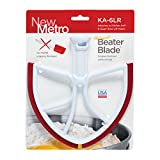 New Metro Design KA-6LR Beater Blade for KitchenAid 6-Quart Bowl Lift Models (Red)