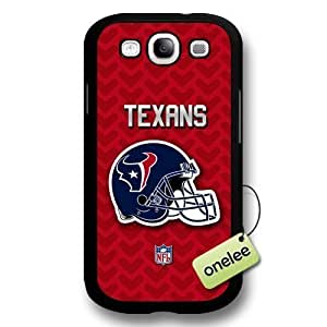 NFL Houston Texans Team Logo for Iphone 5/5S Black Hard Plastic Case Cover - Black Kimberly Kurzendoerfer