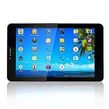 Yuntab K03-7 7 Inch Quad Core Android 3G Tablet PC, Androud 4.4, 1GB RAM 8GB FLASH, 1280 x 800 IPS HD Screen, Blue tooth, GPS, Unlocked GSM, Dual Camera GPS WIFI Bluetooth, G Sensor
