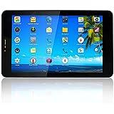 YUNTAB K03 Quad-core Tablet 7 pulgadas 3G+WiFi DUAL sim Android 4.4 3GTablet PC Yuntab HD 1280 X 800 IPS SPEADTRUM 7731 1.2GHz Cortex A7 Batería 2800mAh Bluetooth 4.0 8GB WiFi 3D Juegos Google Play Store Youtube Netflix BLANCO