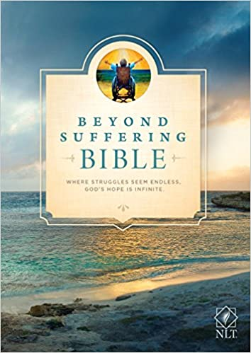 Book Beyond Suffering Bible-NLT: Where Struggles Seem Endless, God's Hope Is Infinite