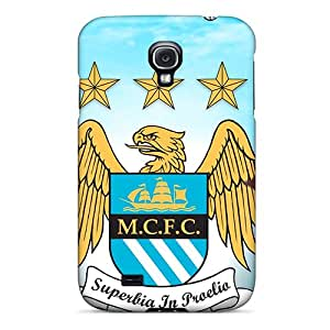 WeJyR2085-JMO Faddish Best Football Club Manchester City Case Cover For Galaxy S4