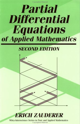 Partial Differential Equations of Applied Mathematics, 2nd Edition