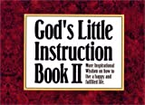 God's Little Instruction, Honor Books Publishing Staff, 1562921444