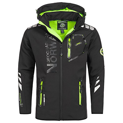Geographical Norway Vantaa Herren Softshell Jacke Outdoor Funktionsjacke