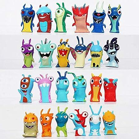 Lot De 24 Figurines De Dessin Anime Slugterra En Pvc 4 Cm Amazon Fr Cuisine Maison