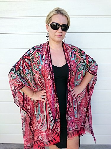 Red Kimono Jacket 1207b8ed8