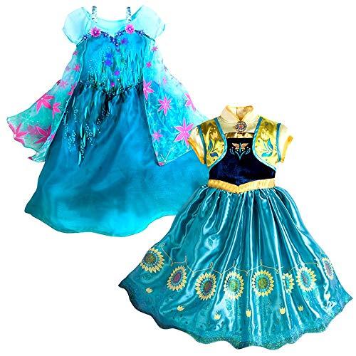 Disney Frozen Frozen Fever 2 in 1 Costume