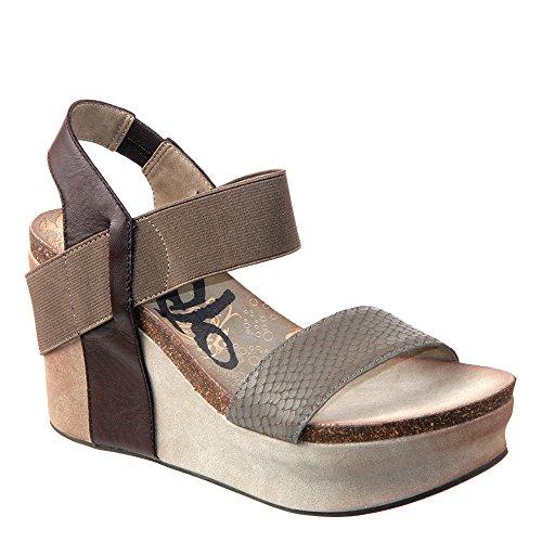 OTBT Women's Bushnell Wedge Sandal,Mint,7.5 M US