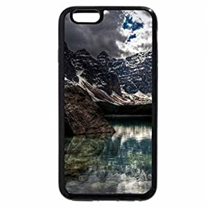 iPhone 6S / iPhone 6 Case (Black) HDR Mountain Lake