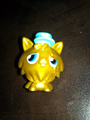 Moshi Monsters Series 1 Gold Figure - Gingersnap (limited Edition)