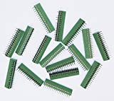 20pcs/lot E-Simpo 2.54mm Pitch (0.1'') PCB Screw Terminal Block, 2.54mm Rated 150V6A CE UL,Copper Material Rohs. (2.54mm 16P)