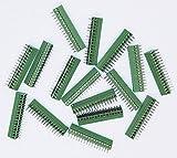 50pcs/lot E-Simpo 2.54mm PCB Screw Terminal Block, 2.54mm 150V6A CE Rohs UL (2.54mm 16P)