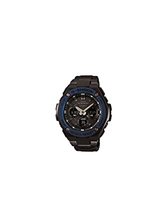 Amazon Com Casio G Shock G Steel Black Pvd Stainless Steel Mens