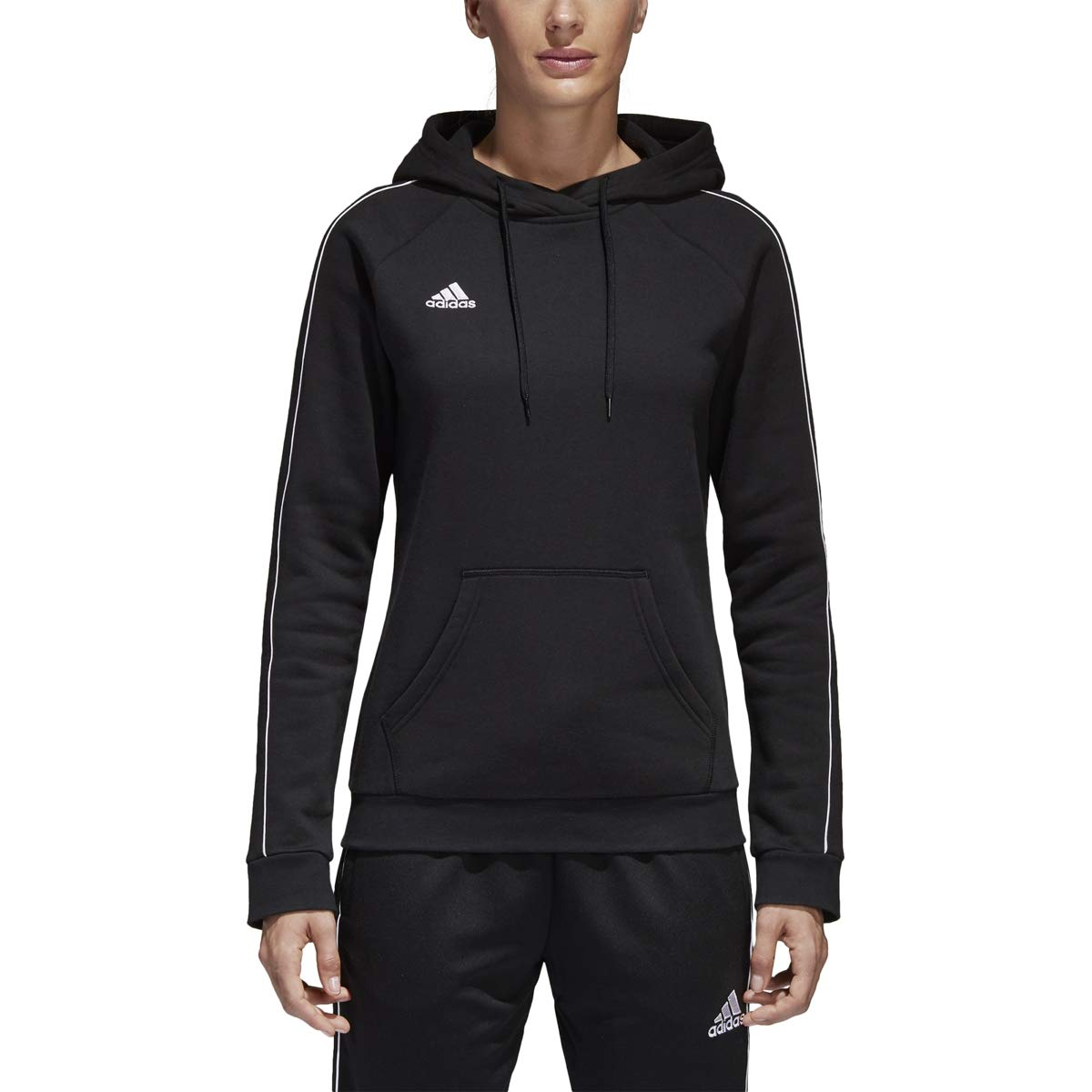 adidas Women's Core 18 Soccer Hoodie by adidas