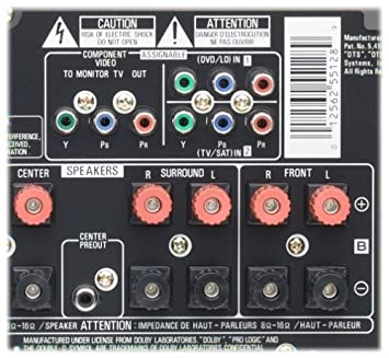 Amazon pioneer vsx d710s 100 watt audiovideo receiver amazon pioneer vsx d710s 100 watt audiovideo receiver discontinued by manufacturer home audio theater fandeluxe Gallery