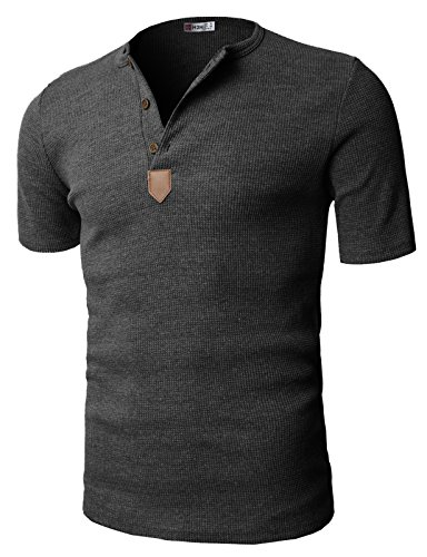 H2H Casual Henley Sleeve T shirts