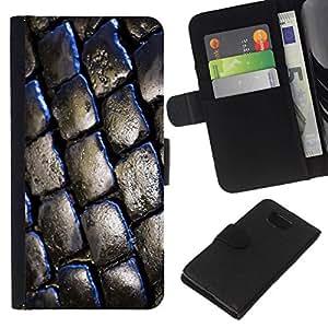 // PHONE CASE GIFT // Moda Estuche Funda de Cuero Billetera Tarjeta de crédito dinero bolsa Cubierta de proteccion Caso Samsung ALPHA G850 / Brick Street /