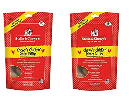 Stella Chewys Freeze Dried Dog Food For Adult Dogs Chicken