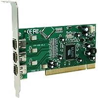 Stratitec IC1394 3-PORT Pci Firewire Adapter Card