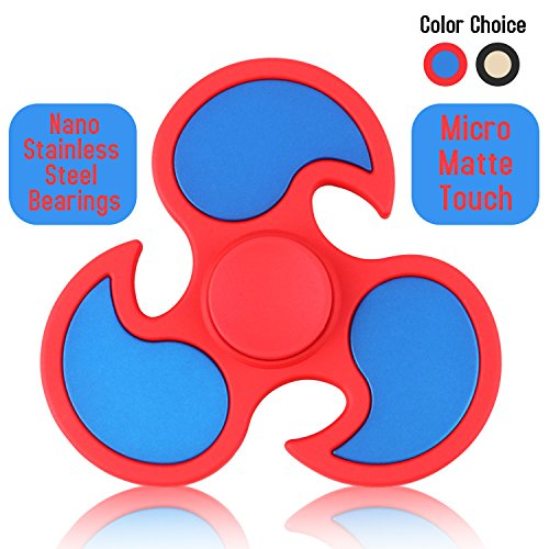 UPC 734010515598, Hand Spinner, KAMOTA Fidget Spinner Micro Matte Touch Feeling Material Figit Spinner Stress Reducer Grinding Hand Feeling- Perfect For ADD ADHD Anxiety and Autism Adult Children for Killing Time