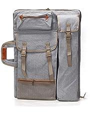 HANNA-SHOP Artist Bag Canvas Artist Portfolio Case Carry Backpack Colorized Sketch Board for Art Supplies Storage and Traveling Size (H66L50cm)