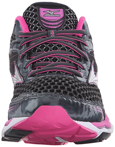 Mizuno Wave Creation 17 Zapatilla de Running de la mujer Dark Shadow/Electric/Silver