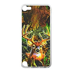 Generic High Quality Deer Hard Back Skin Cover Case With Laser Technology for iPod Touch 5th Generation ASI-a393