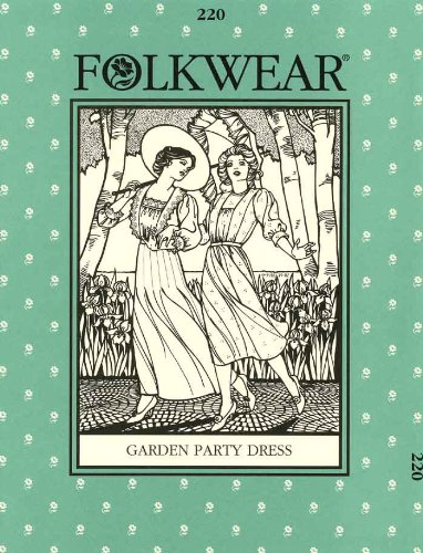 Patterns - Folkwear #220 Garden Party Dress (Gardens 220)