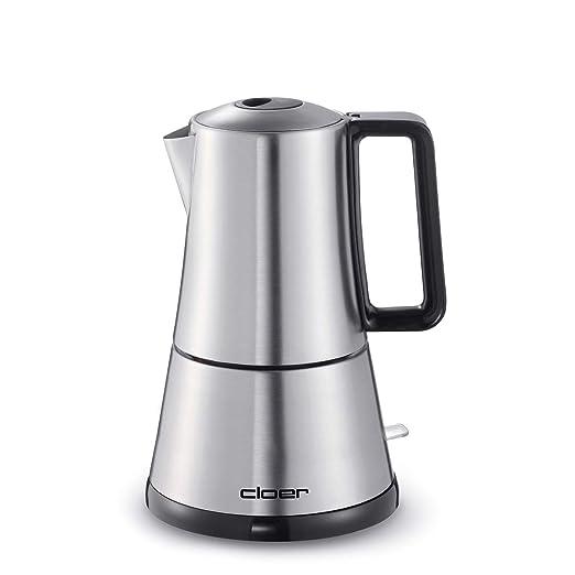 Cloer 5918 Independiente Máquina espresso 1.5L Acero inoxidable ...