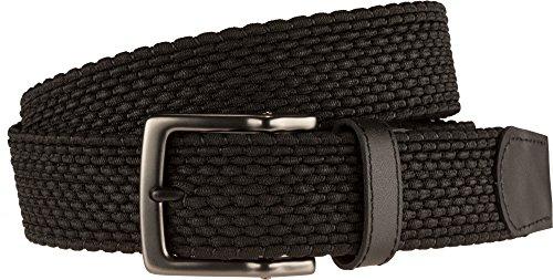 Nike Men's Nike Men's Stretch Woven Belt, black, 36