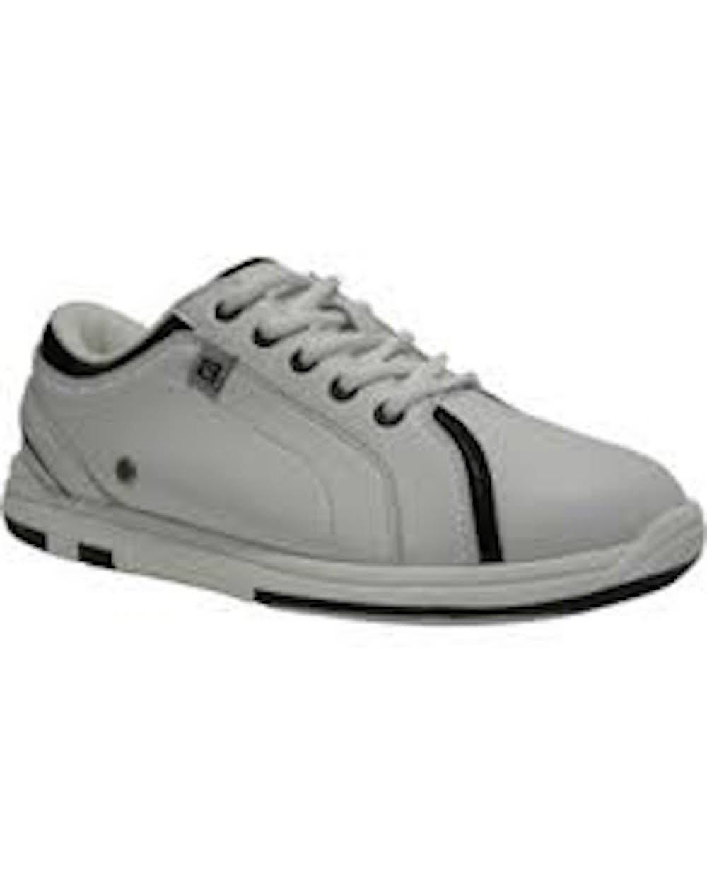 Brunswick Women's Rave White/Black Bowling Shoes Size 8.5