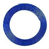 BEESCLOVER 13M Moulding Trim Strip Car Door Edge Protector Cover Outlet Vent Car Decorative Strips blue