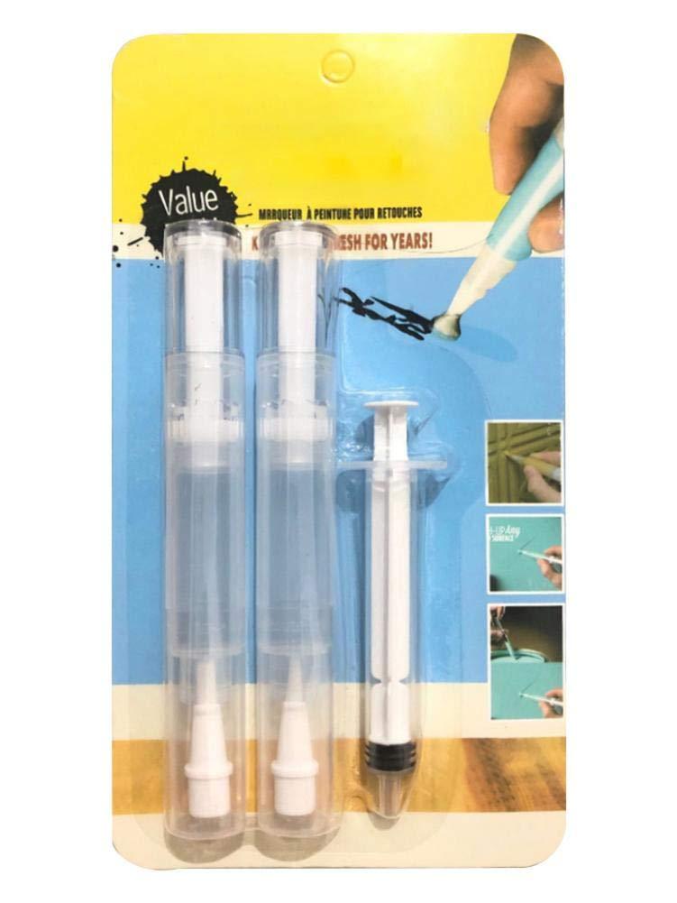 metal, madera marcadores de pintura de secado r/ápido a base de agua de bajo olor para rocas Paint Pen Repair Herramienta de reparaci/ón de paredes Herramienta de parcheo Marcadores de pintura