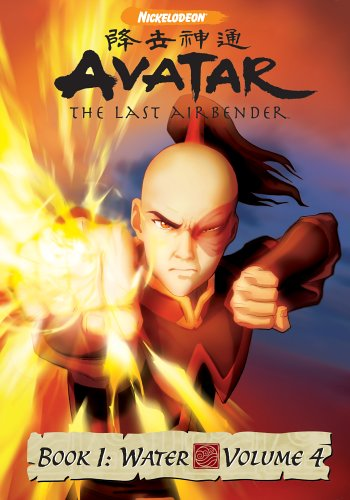 DVD : Avatar The Last Airbender - Book 1 Water, Vol. 4