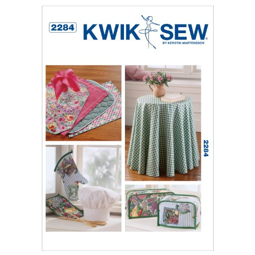 - Kwik Sew K2284 Chefs Hat Sewing Pattern, Oven Mitt